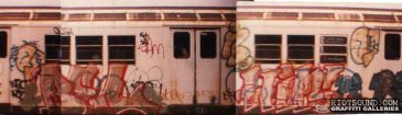 BEL WIPS Subway Graffiti