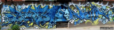 Canadian Wildstyle Mural