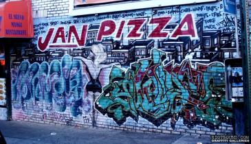Jan Pizza Graffiti
