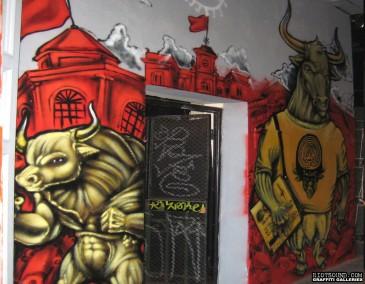 Mural Inside Nightclub