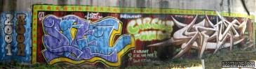 Outdoor Mural In Rome