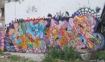 Roma Italia Graffiti