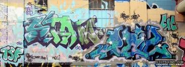 The Spanish 5 Graff Pieces