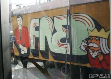 Truck Aerosol Art