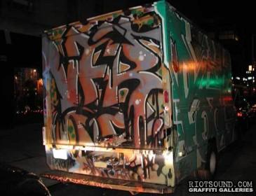 Truck Graffiti 08