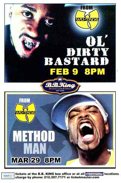 Dirt McGirt Takes New York – Ol' Dirty Bastard's Last NYC Show