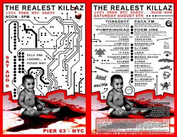 TheRealestKillasAugust2005 Flyer