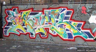 Blockbuster Graffiti Piece