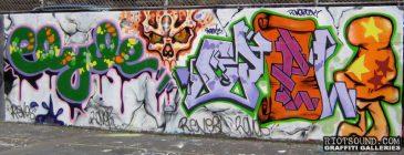 CLYDE graffiti New York