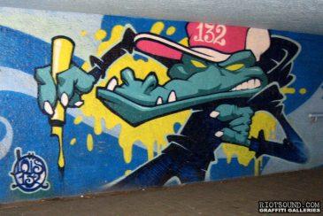 132 Crew Graffiti