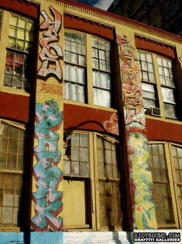 19 Graffiti On Building