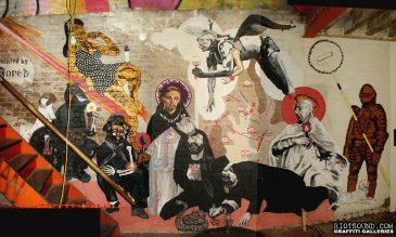 34 Street Art Mural
