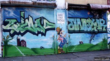 37 Garage Door Mural