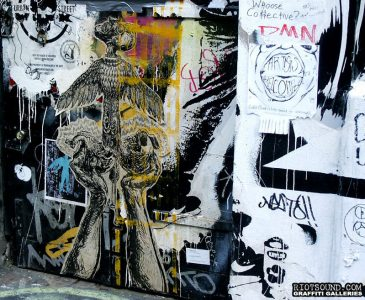 70 Pasted Poster Art