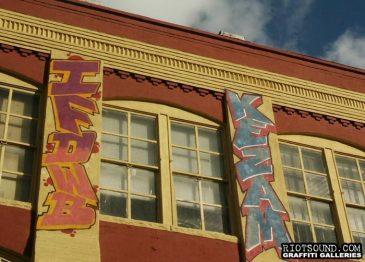 9 Rooftop Graffiti