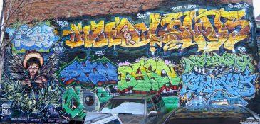 AOR Crew Montreal Graffiti