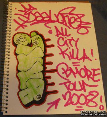 All City Killer B More Tour