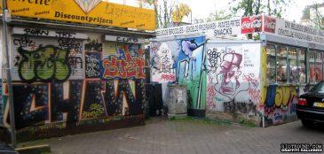 Amsterdam Flea Market Graffiti
