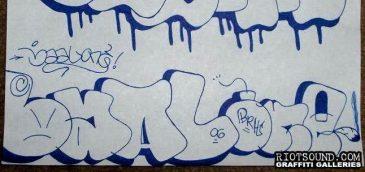 Baal Graffiti Sketch