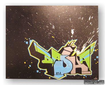 Basha One Canvas
