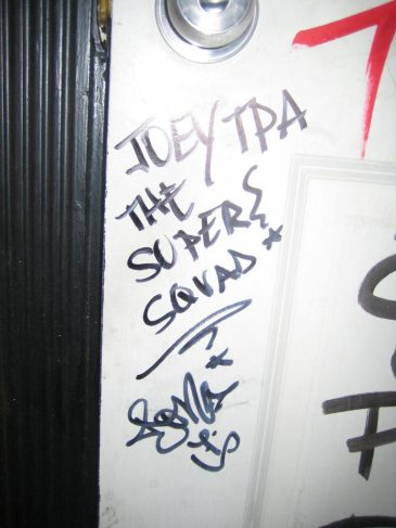 Bathroom Graffiti Hit