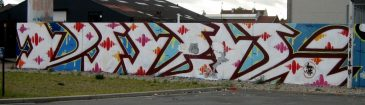 Blockbuster Graff Piece