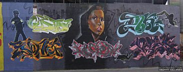 Bronx Graffiti Wall