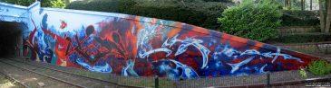 Brussels Tunnel Graffiti