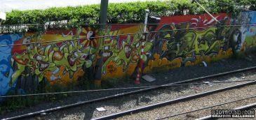Bruxelles Metro Graffiti
