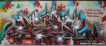 CENO Wildstyle Graff