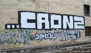 CRONZ Roma Graffiti Arte