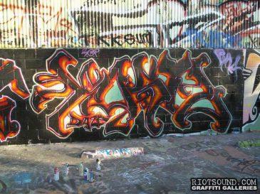 California Wildstyle Graffi