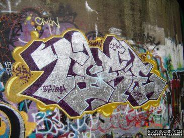 Chicago Graffiti by TESE