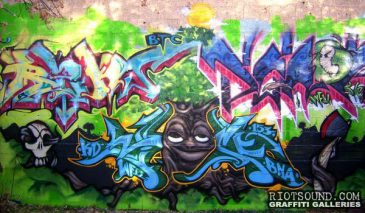 Colorado Graffiti Art Production