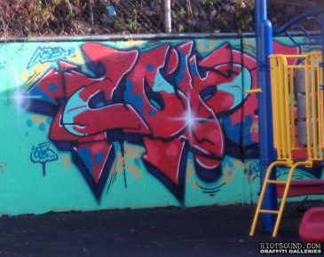 Cope 2 Playground Art