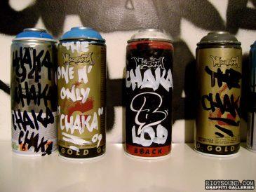 Customized Graffiti Cans