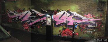 ENSOE Graffiti Mural