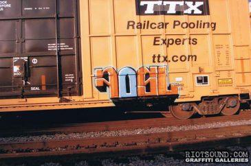 FOSL Freight Train Graffiti