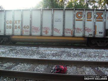 Freight Train Graffiti 1