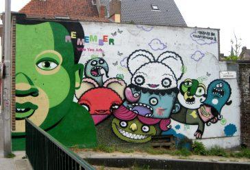 Ghent Belgium Graffiti