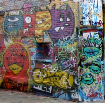 Ghent Spray Paint Art