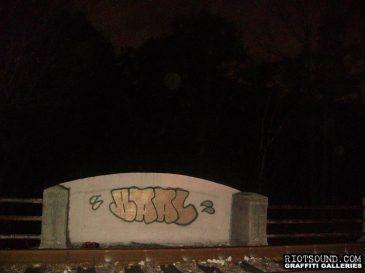 Graff By Train Tracks 1