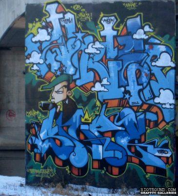 Graffiti Art In Ottawa Canada