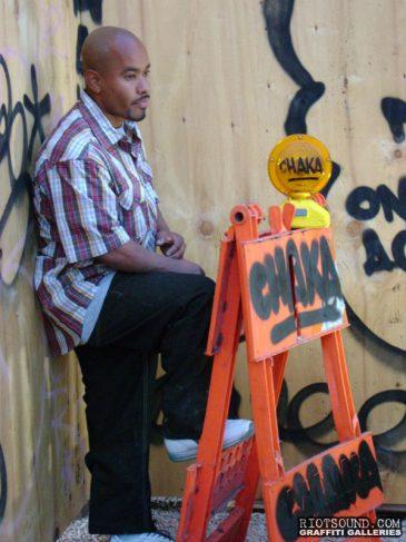 Graffiti Artist CHAKA