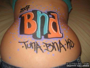 Graffiti Body Art