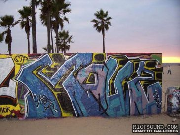 Graffiti By The Beach