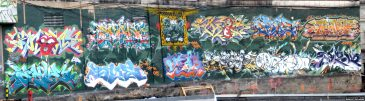 Graffiti Hall Of Fame Wall