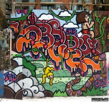 Graffiti Mural In Ottawa