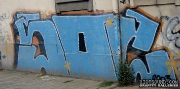 Graffiti Peice In Brussels