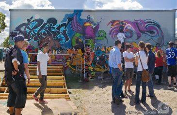 Graffiti Production In Progress